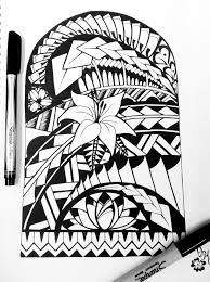 back tribal aztec design photos pictures and