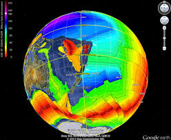 Earth Wind Map Expanding Earth Do The Continents Wind Back To A Sphere