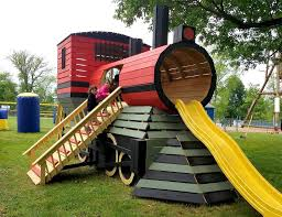 old town train play set plan wooden train playhouses and