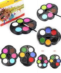 visit to buy 6 colors face paint halloween makeup non toxic water