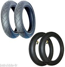 chambre à air 312x52 250 2 pneus poussette mura et 2 chambres à air pneus maxi cosi