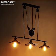 new arrival 3 lights pendant lighting fixture edison bulbs