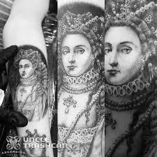 ascension tattoo blackwork tattoo by uncle trashcan ascension tattoo orlando fl