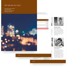 video proposal template free sample