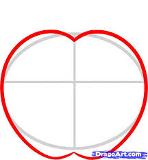 draw an apple for kids step by step drawing sheets added by