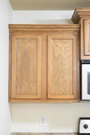 how to restain cabinets darker how to refinish wood cabinets the easy way remodeled