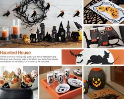 crate u0026 barrel u0027s halloween home decor sets the stage for a night