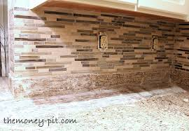 Backsplash Tile Installation Cost by How To Install A Pencil Tile Backsplash And What It Costs The