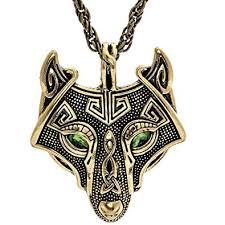 antique necklace pendant images Woogge norse vikings pendant men 39 s necklace red eye jpg