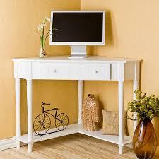Small White Corner Computer Desk White Corner Computer Desk Freedom To