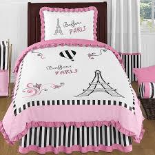 Twin Comforter Sweet Jojo Designs Paris 4 Piece Twin Comforter Set U0026 Reviews
