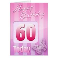 mothers 60th birthday cards greeting u0026 photo cards zazzle