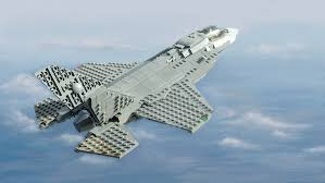 lego army jet f 35b executed in lego naval matters
