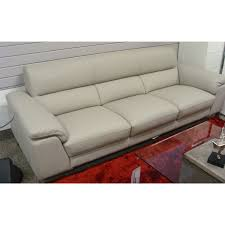 Nicoletti Leather Sofa Contemporary Galleries Div 728 Sofa