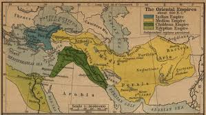 Map Of The World Bc by Of The Oriental Empires 600 Bc