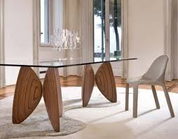 Small Glass Dining Room Tables Modern Concept Glass Wood Dining Room Table Small Wooden And Glass
