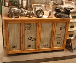 Decorating A Credenza Rustic Home Decor Adds Well Worn Cachet To A Room