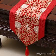 luxury damask table runner festival fancy table runners table linen vintage chinese rustic
