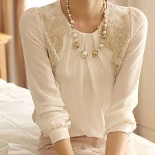 chiffon blouses for blouse vintage sleeve sheer shirt lace chiffon