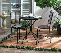 Black Bistro Chairs 3 Piece Metal Bistro Set U2013 Mobiledave Me