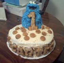 coolest cookie monster birthday cake 53
