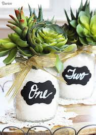 jar centerpieces jar centerpieces using succulents darice