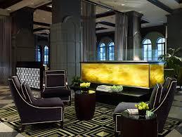 art deco interior design elegant art deco design of the allerton hotel chicago