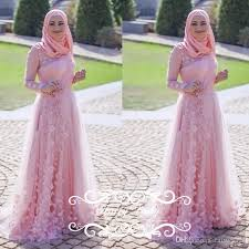 wedding dress for muslim amazing pink islamic muslim wedding dresses 2018 arabic dubai