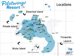 Launch Maps Feature Pilotwings Resort 3ds Maps To Find Locations Balloons