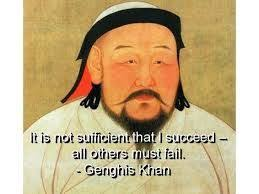 genghis khan quote canvas print 4068 omg i this my