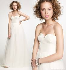 winter wedding dresses 2010 j crew fall 2010 wedding gown collection wedding inspirasi