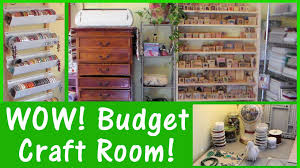 new home real craft room set up money saving tips u0026 ideas youtube