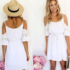 white casual dresses plus size pluslook eu collection