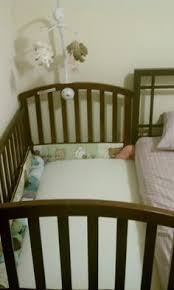 Sleigh Bed Crib Sleigh Bed Co Sleeper In Espresso The Sleigh Bed Co Sleeper