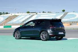 volkswagen gti blue 2017 2016 volkswagen golf gti clubsport review gtspirit