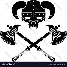 fantasy viking helmet second variant royalty free vector