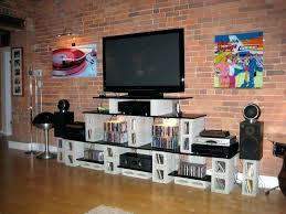 Media Storage Shelves by Tall Tv Stand With Shelves U2013 Appalachianstorm Com