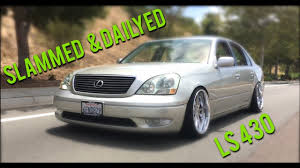 lexus slammed slammed vip lexus ls430 cinematic youtube