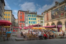 A Place Plot Place Du Plot In Le Puy En Velay Editorial Stock Photo