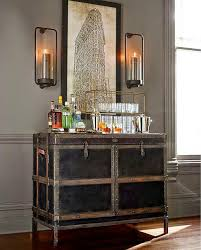 Trunk Bar Cabinet Ludlow Bar Pottery Barn