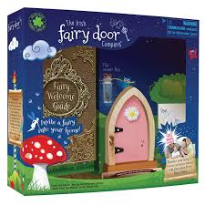 Fairy Door by The Irish Fairy Door Pink Arched At Growing Tree Toys