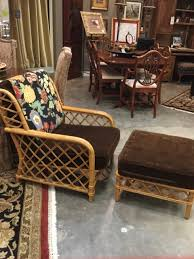 bamboo chair ficks reed bamboo chair with ottoman invio fine furniture consignment