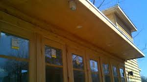 Outdoor Soffit Recessed Lighting by Recessed Mini Cans Outdoor Soffit Buck Parrish Youtube