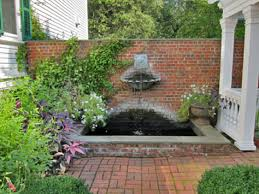 tiny patio ideas breathtaking design small patio ideas comes with brick wall and pond