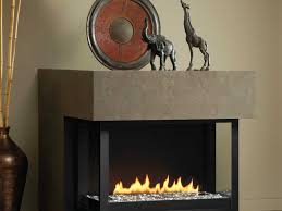 montigo h series multi sided fireplace impressive climate control