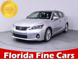 lexus hs for sale used 2013 lexus ct 200h hybrid sedan for sale in miami fl 85581