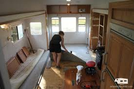 Rv Renovation Ideas by Our Fifth Wheel Mid Renovation Tour Wheeled And Free