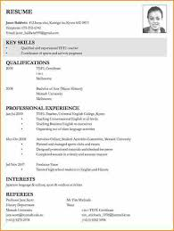 tefl resume sample download resume example for jobs sample cv