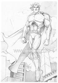 superman sketch by tony tzanoukakis on deviantart