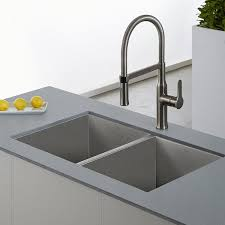 kraus kitchen faucets kraus kpf 1640ss modern nola single lever flex commercial style